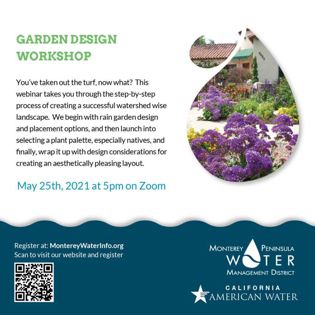 Garden Design Workshop Poster