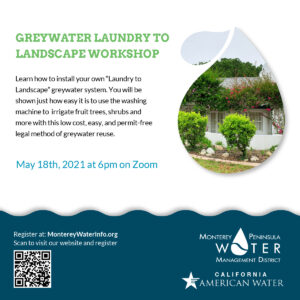 Workshop Greywater Laundry to Landscape Poster