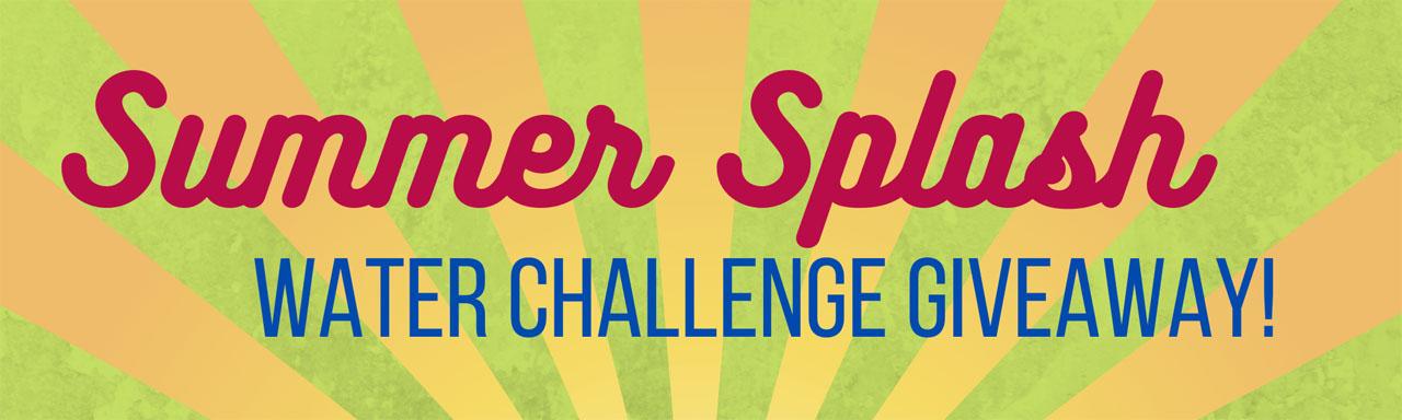 Summer Splash Water Challenge