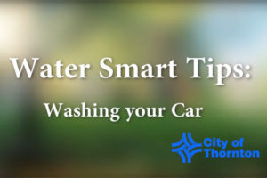 Water Smart Tips - Washing Car, Cleaning Driveway