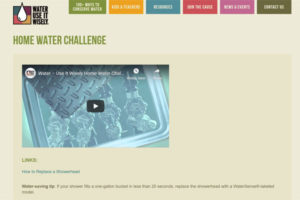 Home Water Challenge